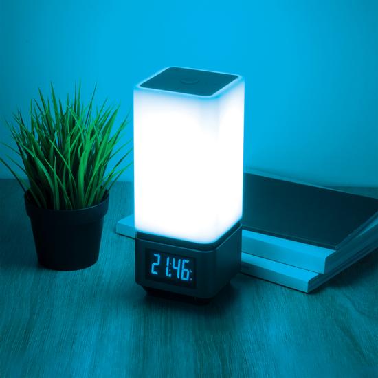 Фото №10 Smart-лампа с Bluetooth-колонкой 80418/1 серебристый