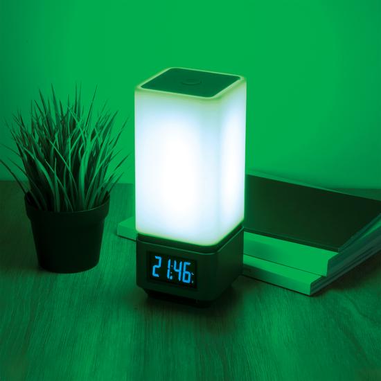 Фото №11 Smart-лампа с Bluetooth-колонкой 80418/1 серебристый