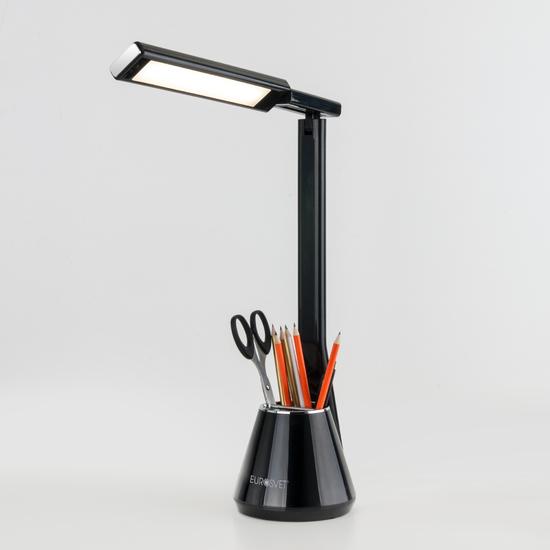Фото №4 Светодиодная настольная лампа 80421/1 черный
