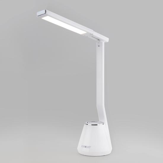 Фото №2 Светодиодная настольная лампа 80421/1 белый