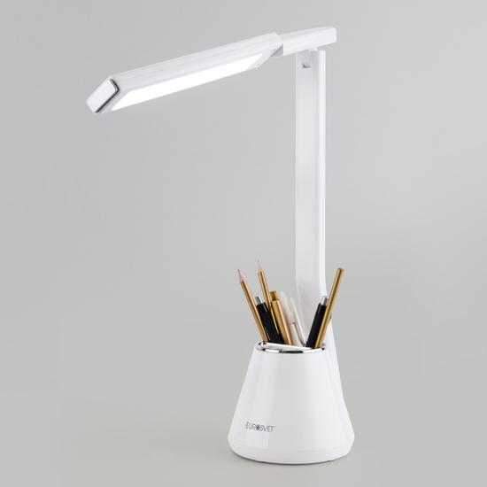 Фото №4 Светодиодная настольная лампа 80421/1 белый