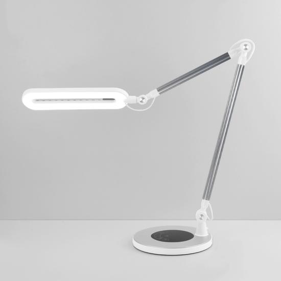 Фото №2 Светодиодная настольная лампа с сенсорным управлением 80420/1 серебристый