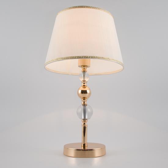Фото №5 Классическая настольная лампа 01071/1 золото