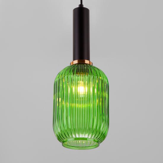 Фото №5 Подвесной светильник 50181/1 зеленый