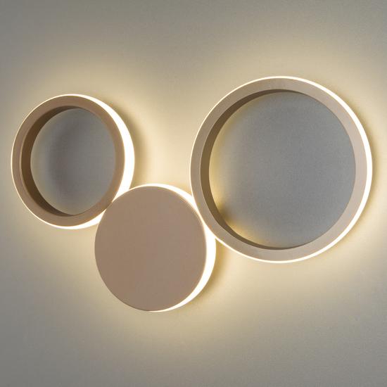 Фото №6 Настенный светодиодный светильник 40141/1 LED золото