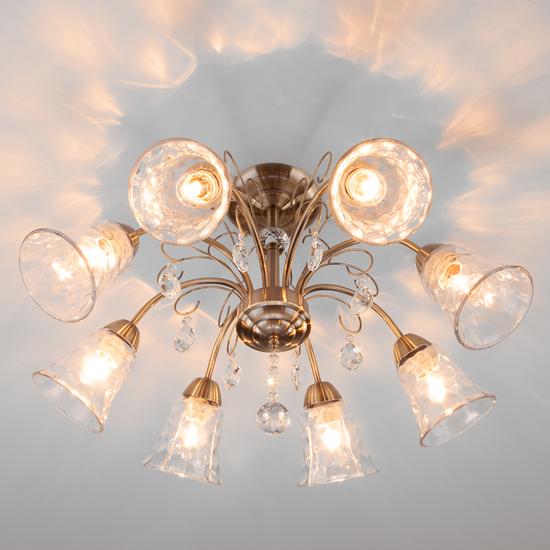 Фото №4 Потолочный светильник 30157/8 античная бронза