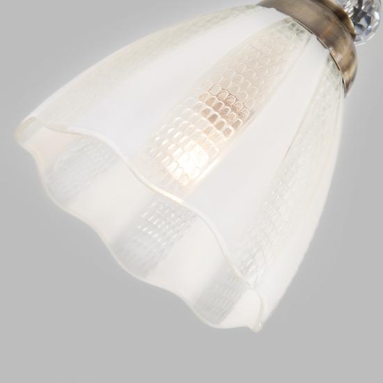 Фото №4 Потолочный светильник 30155/5 античная бронза