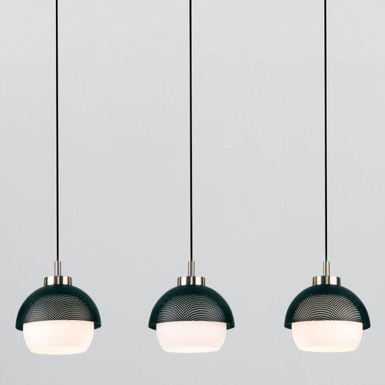 Фото №2 Подвесной светильник 50106/3 античная бронза/черный