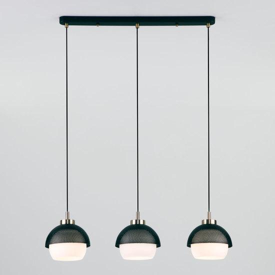 Фото №4 Подвесной светильник 50106/3 античная бронза/черный