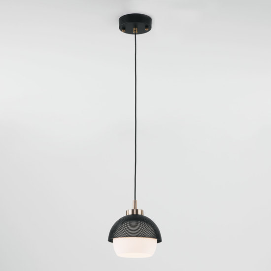 Фото №4 Подвесной светильник 50106/1 античная бронза/черный