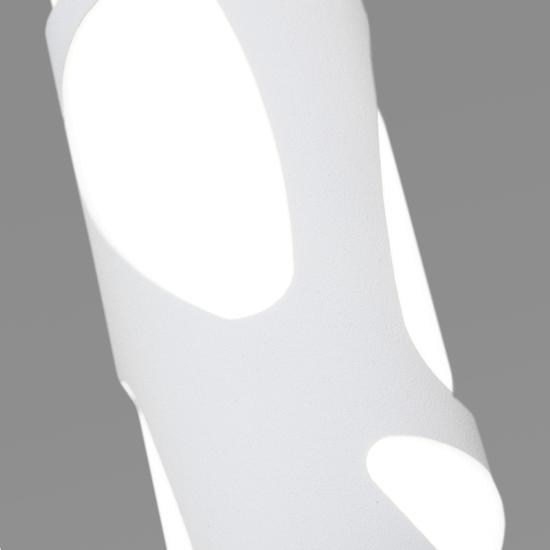 Фото №4 Подвесной светодиодный светильник DLR037 12W 4200K белый матовый