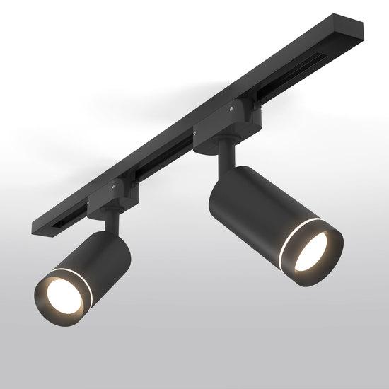 Фото №2 Трековый светодиодный светильник для однофазного шинопровода Glory Черный 7W 4200K LTB39