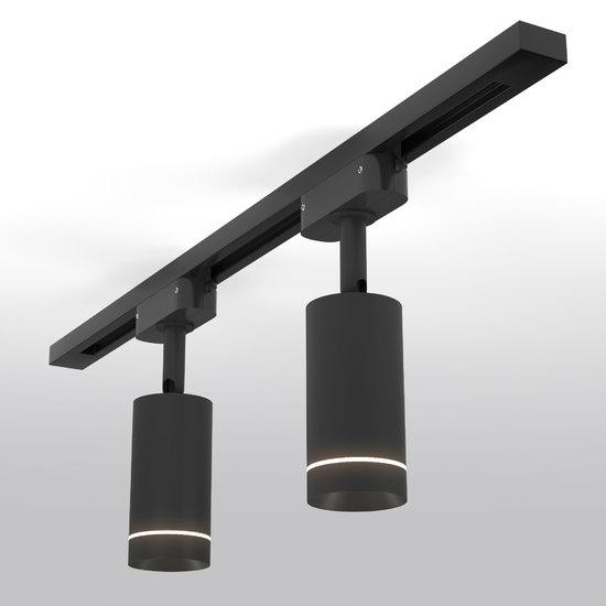Фото №3 Трековый светодиодный светильник для однофазного шинопровода Glory Черный 7W 4200K LTB39