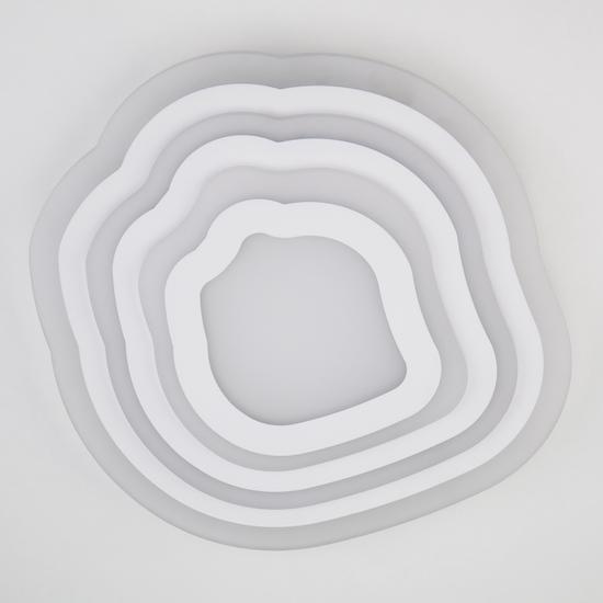 Фото №3 Потолочный светодиодный светильник с пультом управления 90119/4 белый