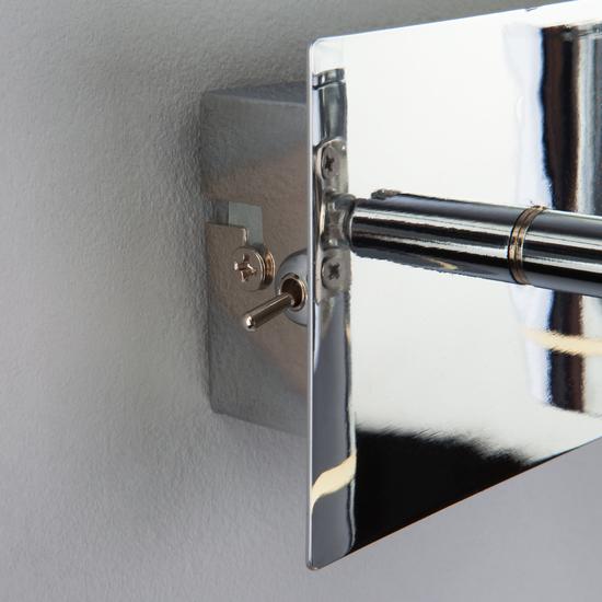 Фото №4 Настенный светильник с поворотными плафонами 20064/3 LED хром