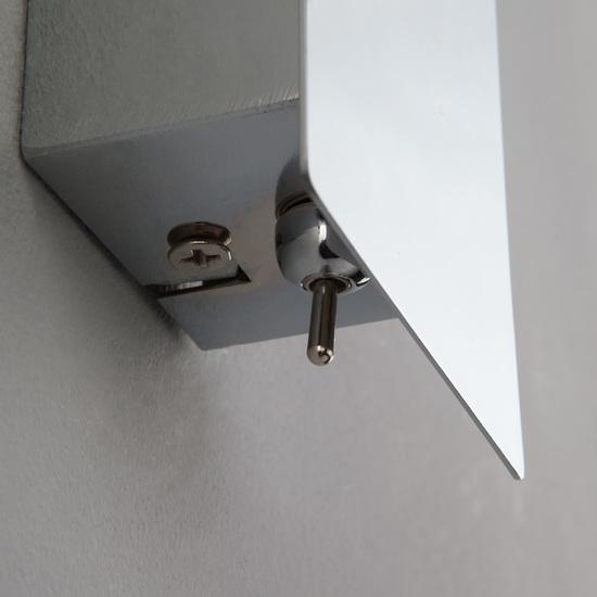Фото №3 Светодиодный настенный светильник с выключателем 20064/1 LED хром