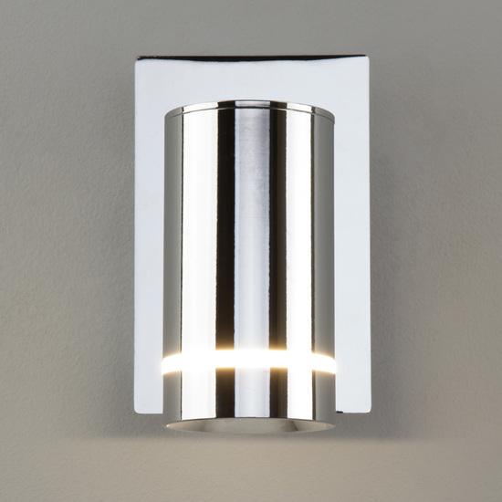 Фото №7 Светодиодный настенный светильник с выключателем 20064/1 LED хром