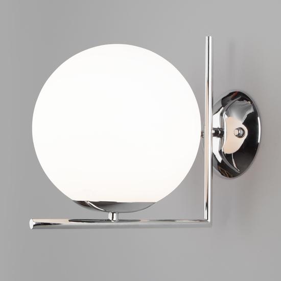 Фото №3 Настенно-потолочный светильник со стеклянным плафоном 70153/1 хром