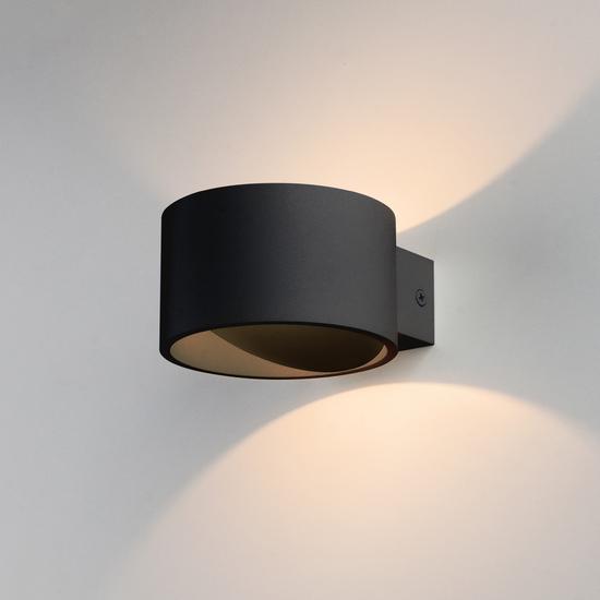 Фото №2 Настенный светодиодный светильник Coneto чёрный MRL LED 1045