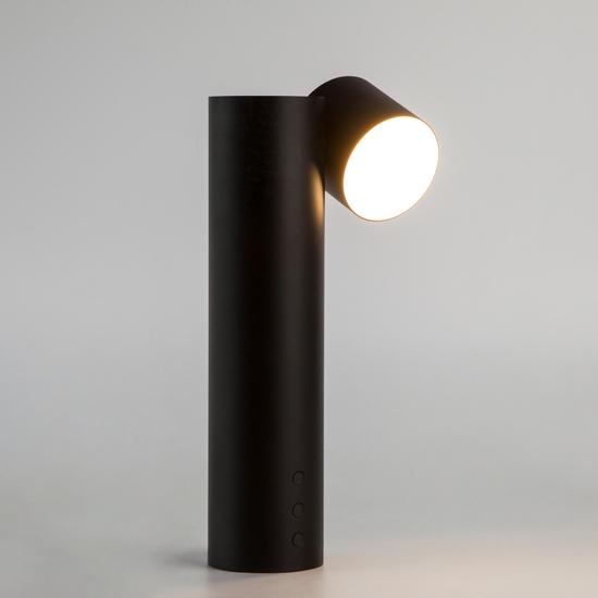 Фото №2 Светодиодная настольная лампа 80425/1 черный