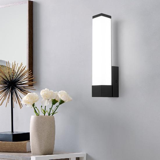 Фото №5 Jimy LED чёрный настенный светодиодный светильник Jimy LED чёрный