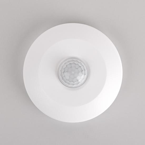 Фото №5 Инфракрасный датчик движения SNS-M-14 6m 2.2-4m 100W IP20 360 Белый SNS-M-14