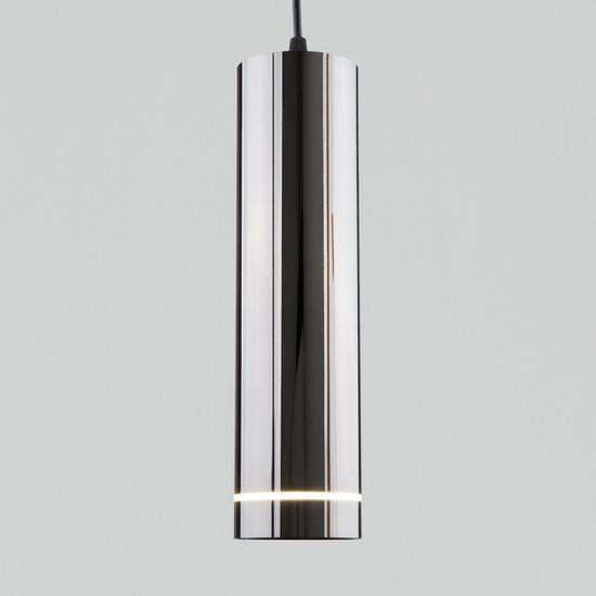 Фото №2 Подвесной светодиодный светильник DLR023 12W 4200K Черный жемчуг