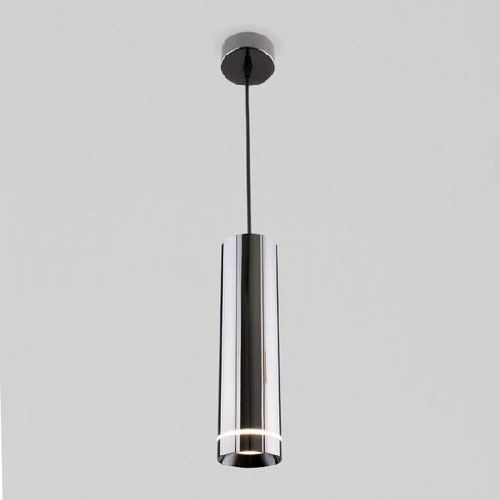 Фото №4 Подвесной светодиодный светильник DLR023 12W 4200K Черный жемчуг