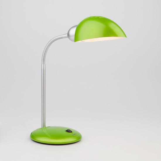 Фото №2 Зеленая настольная лампа 1926  зеленый