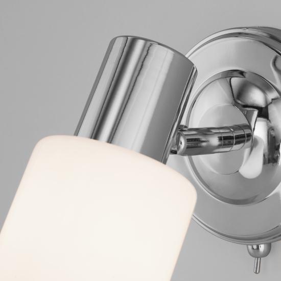 Фото №5 Настенный светильник с поворотным плафоном 20089/1 хром