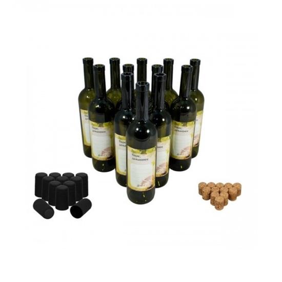 Фото №2 Винные бутылки «Тоскана» 0,75 л (12 шт.)