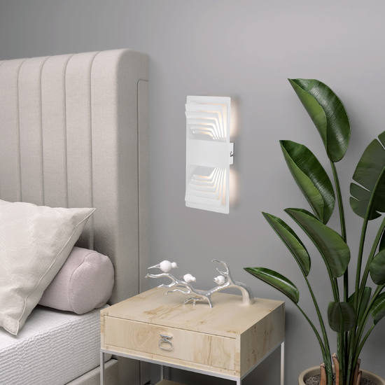 Фото №4 Onda LED белый  настенный светодиодный светильник MRL LED 1025