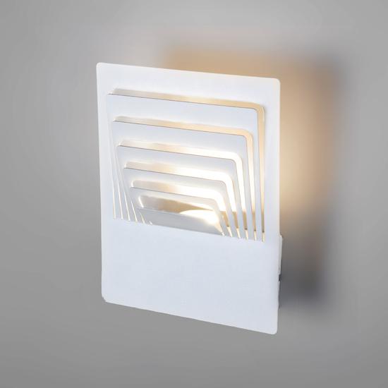 Фото №2 Onda LED белый настенный светодиодный светильник MRL LED 1024