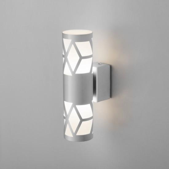 Фото №2 Fanc LED серебро настенный светодиодный светильник MRL LED 1023