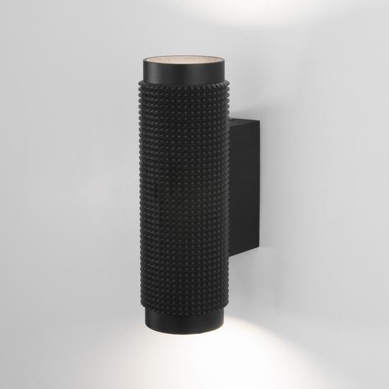 Фото №2 Spike GU10 Черный настенный светильник MRL 1014