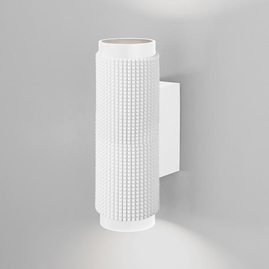Фото №2 Spike GU10 Белый настенный светильник MRL 1014