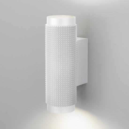 Фото №3 Spike GU10 Белый настенный светильник MRL 1014