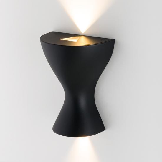 Фото №2 Eos LED чёрный настенный светодиодный светильник MRL LED 1021