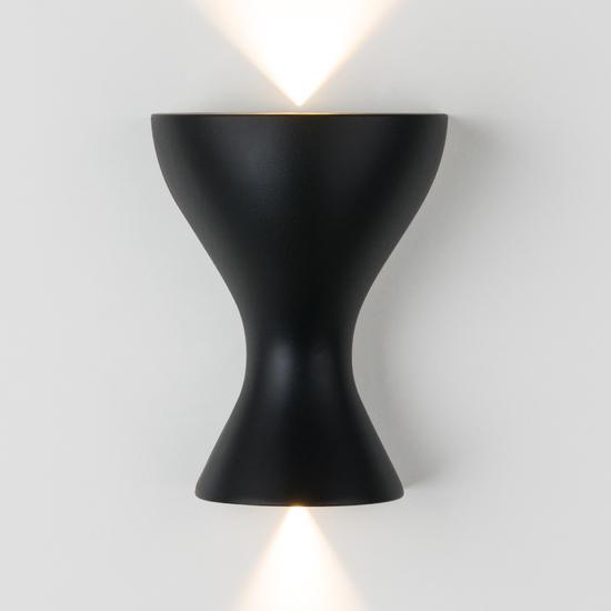Фото №3 Eos LED чёрный настенный светодиодный светильник MRL LED 1021
