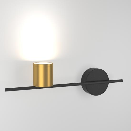 Фото №3 Acru LED черный/золото настенный светильник MRL LED 1019