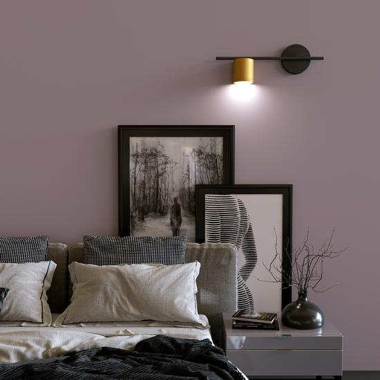 Фото №4 Acru LED черный/золото настенный светильник MRL LED 1019