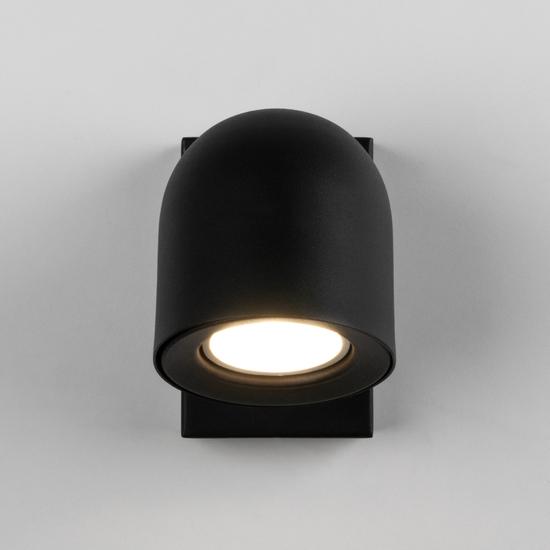 Фото №3 Ogma GU10 SW чёрный настенный светильник MRL 1009