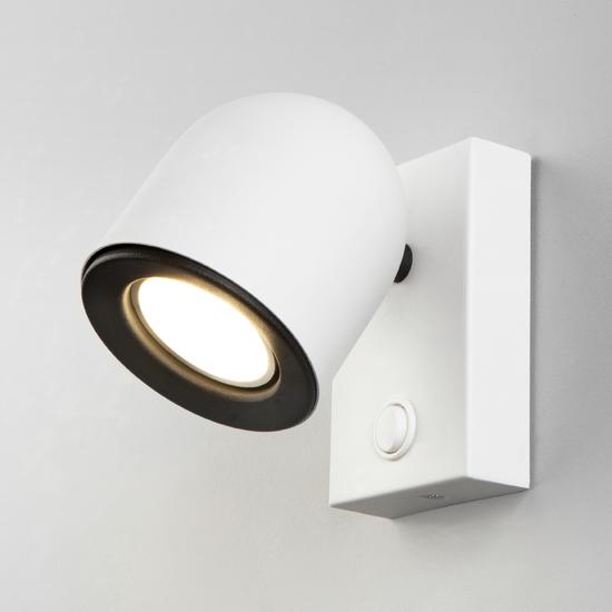 Фото №2 Ogma GU10 SW белый настенный светильник MRL 1009