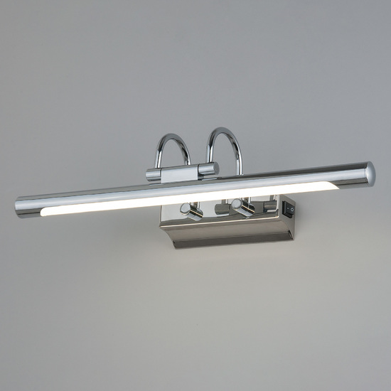 Фото №2 Flint Neo SW LED хром с выключателем настенный светодиодный светильник MRL LED 1022