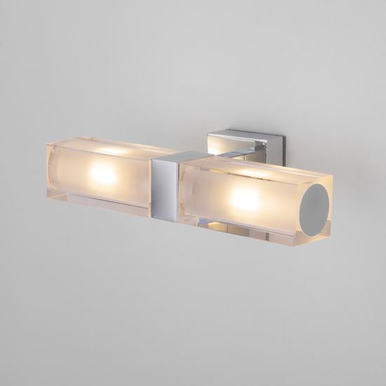 Фото №2 Duplex 2x28W хром настенный светодиодный светильник 1228 AL14
