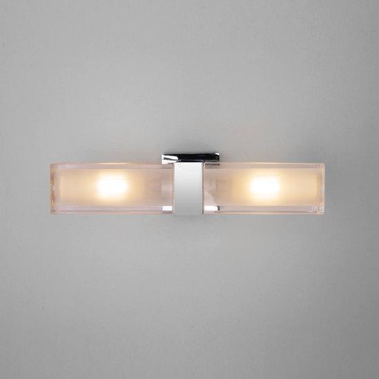 Фото №3 Duplex 2x28W хром настенный светодиодный светильник 1228 AL14