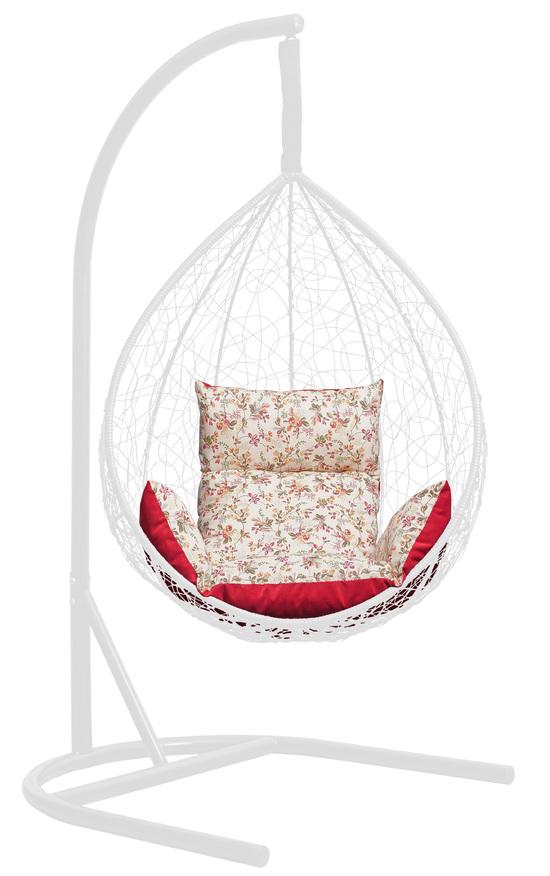 Фото №2 Подушка комбинированная со спинкой и подлокотниками для подвесного кресла