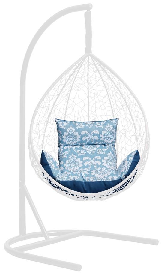 Фото №3 Подушка комбинированная со спинкой и подлокотниками для подвесного кресла