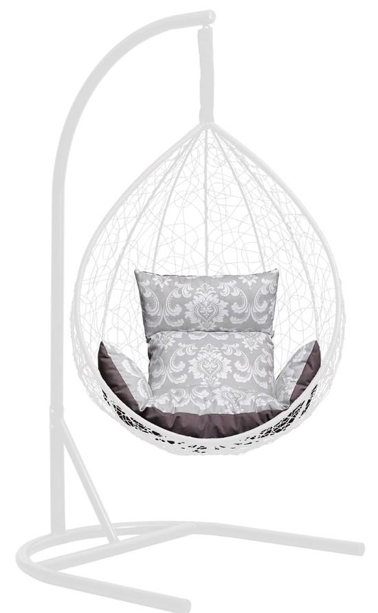 Фото №5 Подушка комбинированная со спинкой и подлокотниками для подвесного кресла