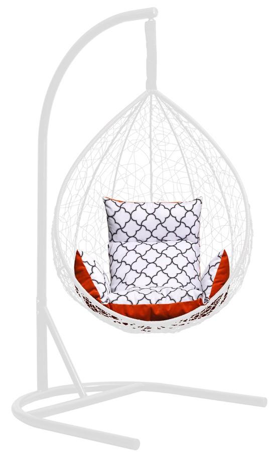 Фото №6 Подушка комбинированная со спинкой и подлокотниками для подвесного кресла